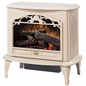 Dimplex Electric Fireplace Stove with Remote Control and Heater