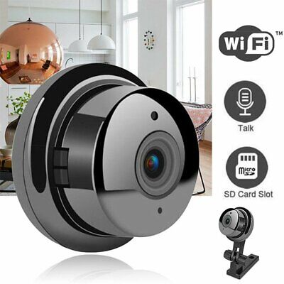 1080P Wireless Wifi SPY Camera Night Vision 360° Angle Motion Detection Alarms