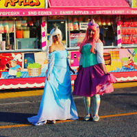 Princess position with Enchanted Adventure Parties