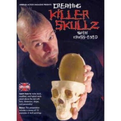 Airbrush DVD Creating Killer Skullz with