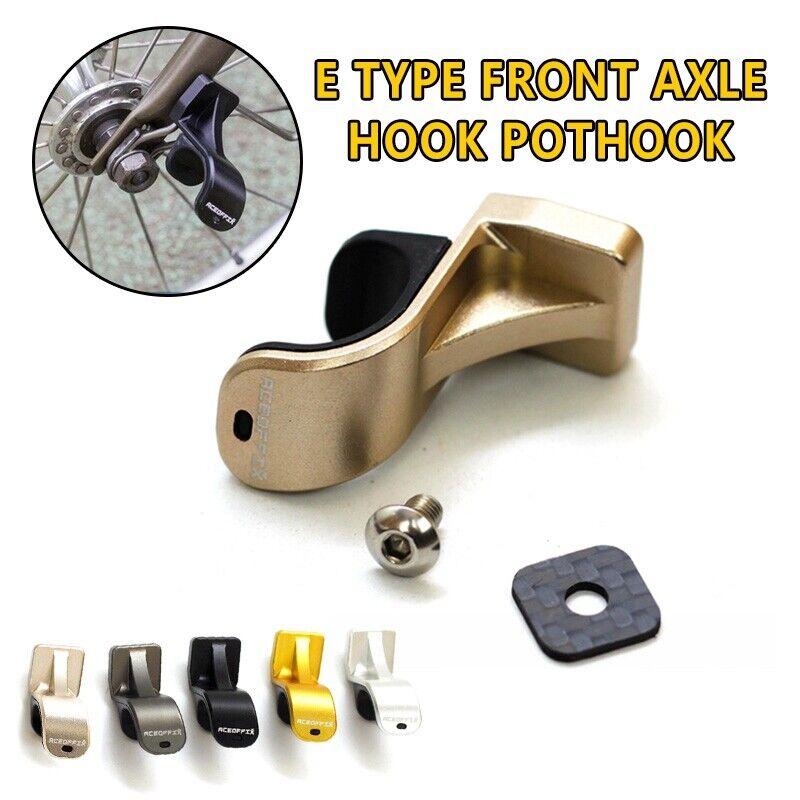 Front Wheel Hook L R Type Alloy Axle Hook for Brompton Folding Bike  Extralight