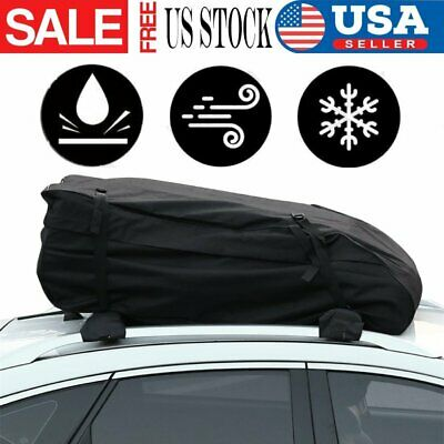 Car Roof Rack Box Pads Inflatable Padded Crossbar Cover Luggage Carrier Racks NN