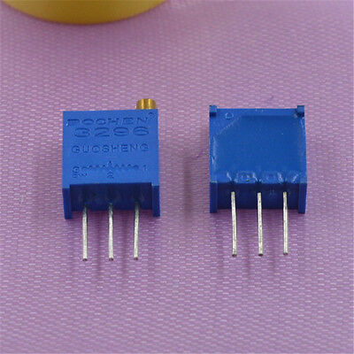3296 Multiturn Variable Trimmer Preset Resistor Potentiometer Various Valuesqty