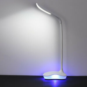 Dimmable LED Desk Lamp, 3 Levels Brightness and 1 Night Light, T