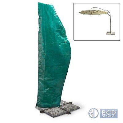 Schutzhülle Abdeckhaube für Gartenschirm Sonnenschirm Ampelschirm bis 5 Meter Ø