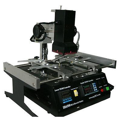 Ir6500 Infrared Bga Smd Rework Station Welder Soldering Tech Reball Reflow Weld