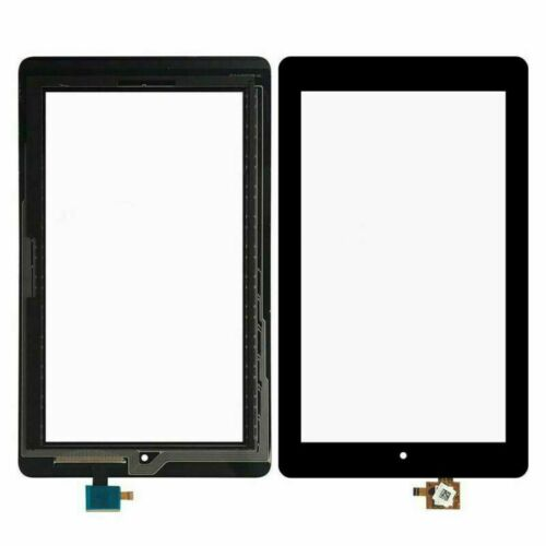 S-Union New Digitizer Screen Replacement for Fire 7th Gen SR043KL 7 Black for 7th Generation 2017 Release