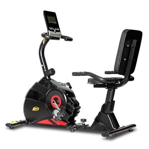 Exercise Bike with Back Support in Black and Red Sydney City Inner Sydney Preview