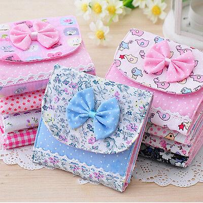 Cute Girl Sanitary Napkin Towel Pads Small Bag Purse Holder