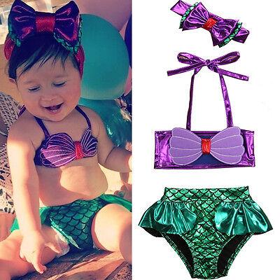 Swimsuite Girls (Toddler Baby Girls Kids Mermaid Summer Beach Swimwear Swimsuit Bikini)