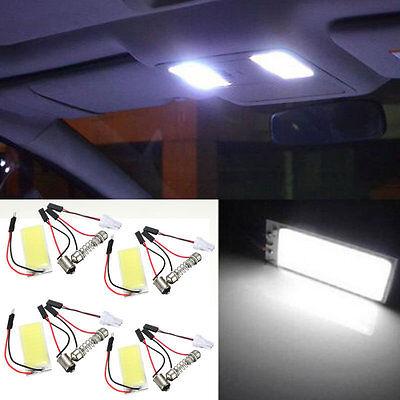 4PC White 36-COB LED Panel HID Bulb best Car Vehicle Interior light For