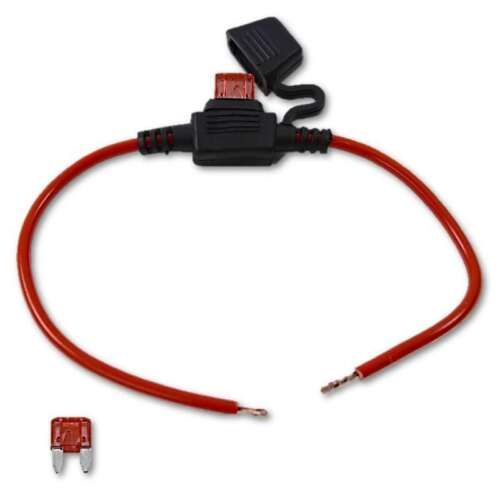 12 AWG Gauge 5-Amp ATC Blade Fuse Holder Car Waterproof Inline Wire Connector