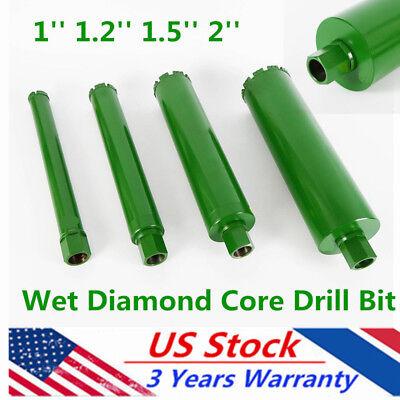 4pcs Wet Diamond Core Drill Bits For Concrete Brick Masonry 11.21.52