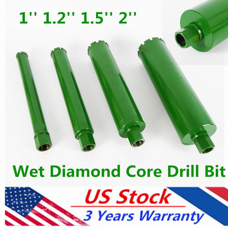 4Pcs WET Diamond Core Drill Bits for Concrete Brick Masonry 1