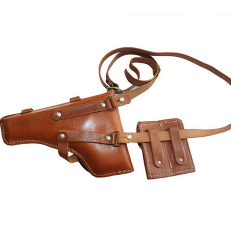 SET Vietnam War Chinese 54 TT Tokarev Type Pistol Leather Holster with strap
