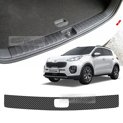 Carbon Trunk Inside Bumper Protector Decal Sticker for KIA 2017-20 Sportage QL