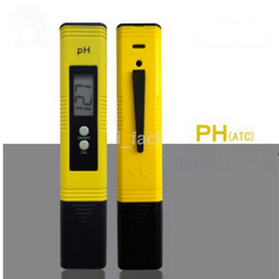 Protable Digital PH Meter LCD Tester Lab Aquarium Pool Hydroponic Water Monitor