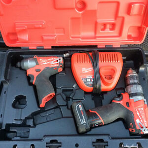 Milwaukee M12 Fuel Impact / Hammer Drill Combo kit Kitchener / Waterloo Kitchener Area image 1