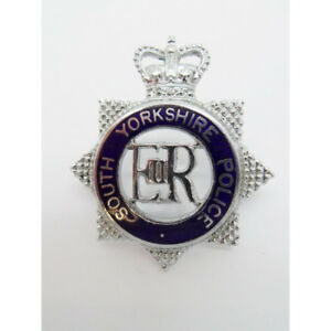 South Yorkshire Police Senior Officer's Enameled Cap Badge