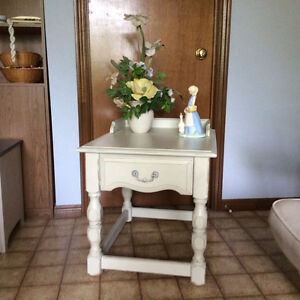 Shabby chic Kroeher side table.
