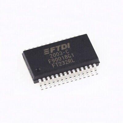 10pcs New Ft232rl Ssop28 Incorporating Clock Generator Output U.s Send