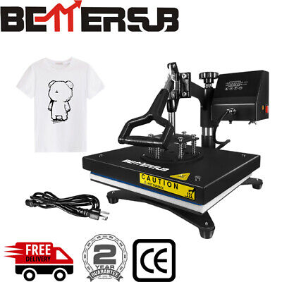 Bettersub Swing Away Digital Heat Press Machine Sublimation Transfer Diy T-shirt