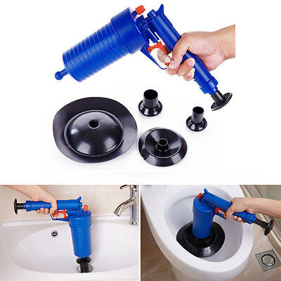 Pressure Pipeline Dredge Device Floor Drain Bathtub Plunger Toilet Inflator
