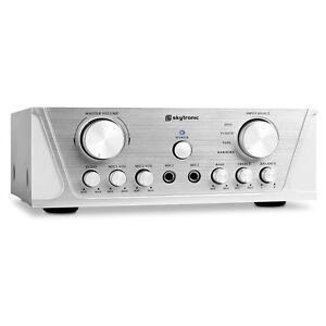 MINI HIFI STEREO AMPLIFIER 100 W HOME CINEMA KARAOKE AMP MUSIC SYSTEM *FREE P&P*