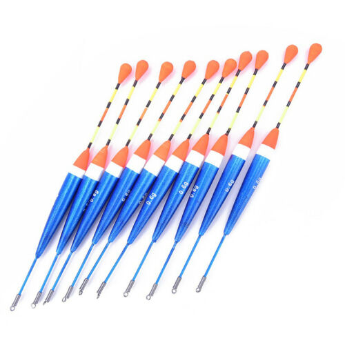 10pcs fishing float set buoy bobber floats bobbers tackle tools fluctuate lure X
