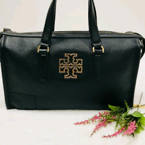 Authentic Tory Burch Black Leather Bag