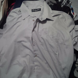 Authentic Dior Dress Shirt (Men)