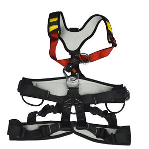 Full Body Climbing Safety Belt Outdoor Mountaineering 230203