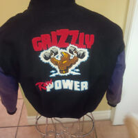 GRIZZLY Collegiate Style Jacket: Limited Edition Design