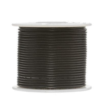 22 Awg Gauge Solid Hook Up Wire Black 500 Ft 0.0253 Ul1007 300 Volts