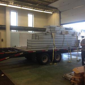 32' flat bed/ float 24000lbs gvw Belleville Belleville Area image 2