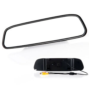 NEW-4-3-034-TFT-LCD-Mirror-Monitor-Automobile-Reverse-Rearview-Backup-Camera-DVD