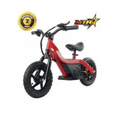 Bicicleta eléctrica sin pedales para niños