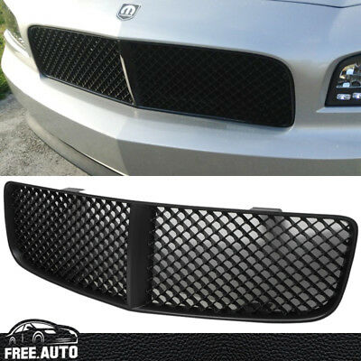 Fit For Dodge Charger 2006 07 08 09 2010 Mesh Style Black Abs Hood Grill Grille
