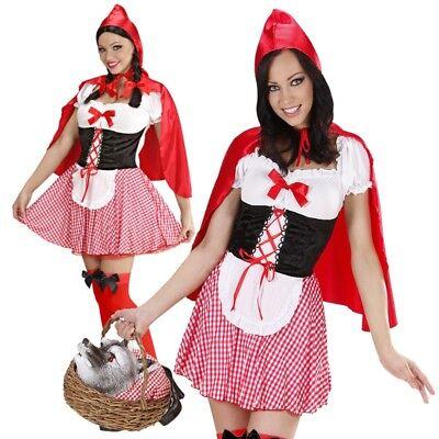 Sexy Rotkäppchen Damen Kostüm Gr. XL 46/48 Rotkäpchen - Sexy Wolf Kostüme