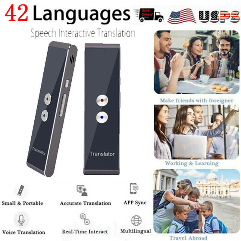 Translaty MUAMA Enence Smart Instant Real Time Voice 42 Languages Translator USA