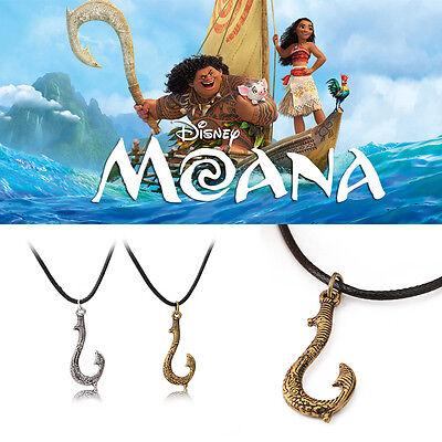 Free Shipping Moana movie inspired Maui's hook Necklace