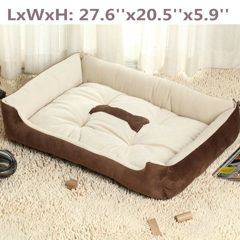 Large Pet Bed Dog Cat Cushion Nest Puppy Soft Warm House Ken