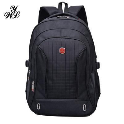 """15.6"""" Laptop Backpack Nylon Computer Rucksack Notebook Shoulder Bag For Men New"""