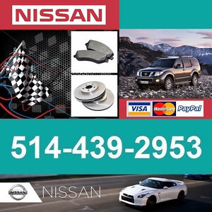 Nissan Pathfinder ■ Brakes and Rotors ► Freins et Disques