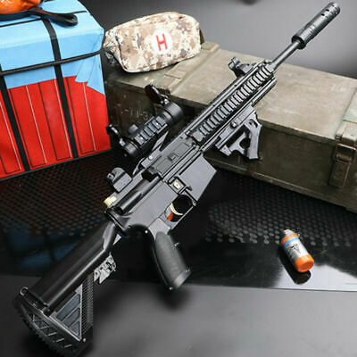 M416 Automatic Rifle Manual Gel Ball Blaster Gun Water Bullet Outdoor Toy CS FA