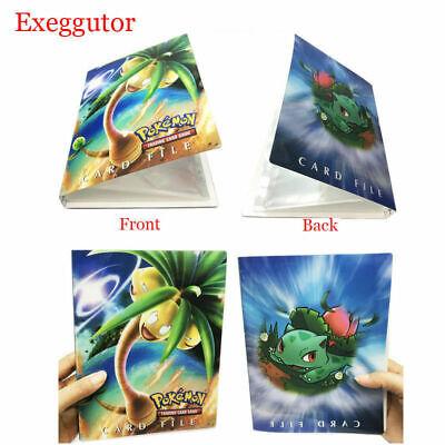 US Pokemon Exeggutor Card Binder Portfolio Pocket Album Books 240 Holders