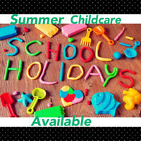 Summer Childcare Available - South Guelph.