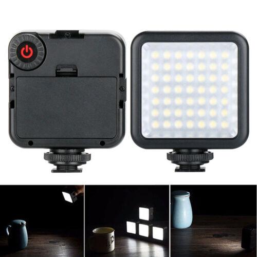 Portable W49 Camera LED Video Light Interlock Adjustable Mini For Iphone Android