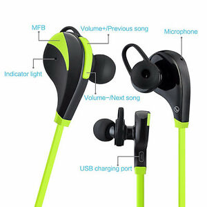 Sport Bluetooth Headphone, Wireless Stereo Sport Sweatproof Regina Regina Area image 1