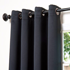 """NEW Thermal Insulated Blackout Curtains 84"""" - $55 for 2 Panels"""